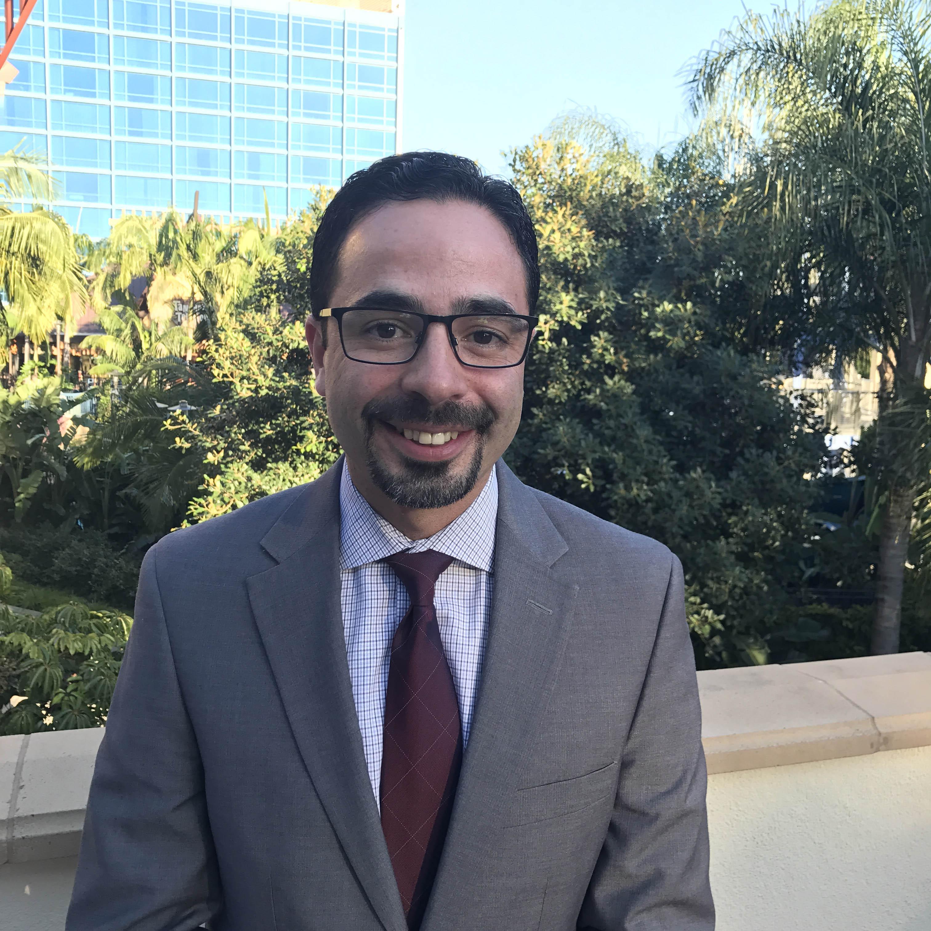 Principal Dr. Richie Romero